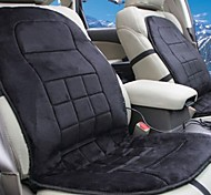 LEBOSH®Car Heating Flame Retardant Sponge Seat Cushion Add Cloth With Soft Nap Two-seater