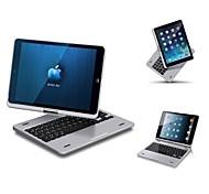360 pivotant boîtier rotatif clavier sans fil portefeuille pour iPad air 5