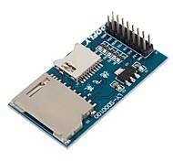dofly cg06ng021 bordo di sviluppo del modulo micro sd card MCU (blu)