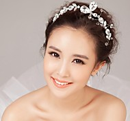 Silver Rhinestone Accessories Wedding Headpieces SP068