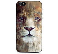 Serious Tiger Pattern Hard Case for iPhone 4/4S