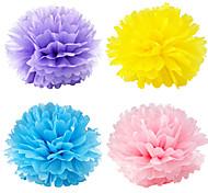25cm Diameter Paper Flower Ball,2pcs/bag