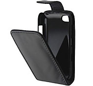 Protective PU Leather Magnetic Vertical Flip Case Cover Shell Protector for BlackBerry 9720