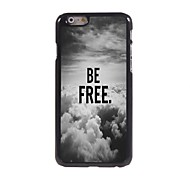 Be Free In The Sky Design  Aluminum Case for iPhone 6