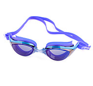 Swimming Anti-Fog Plastic Oval Classic Goggles