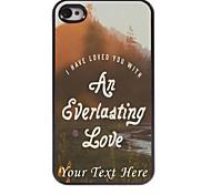 personalisierte-Tasche - Love Design Metallkasten für iphone 4 / 4s