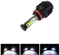 CONQUER® 2PCS 30W 3600Lumens H11 High Power High Brightness Cree LED Headlight for Car