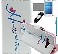 Galaxy Grand Prime G530 compatibile Accessori Fascio Custodia/cover/Protezione schermo/Cavo USB/Stylus