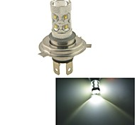 Carking™ Auto H4 60W 12SMD LED Headlight Foglight Bulb-White(12V 1PC)