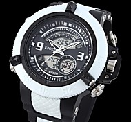Men's LCD Water Resistant Digital Special design Military Watch for Sports(Assorted Colors)