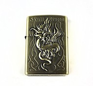Creative Ghost Dragon Pattern Oil Lighter