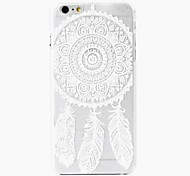 Wind Chimes Pattern PC Back Cover Case for iPhone 6