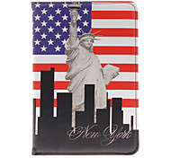 Kinston Rotatable Statue Of Liberty Case for iPad mini 3, iPad mini 2, iPad mini