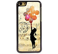 The Girl Design Aluminum Case for iPhone 5C