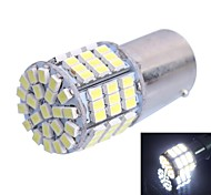 GC®  1156 / BA15S 7.5W 500LM 85x3020 SMD White LED for Car Turn Steering Light / Brake Light Lamp (DC12V)