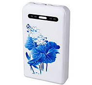 Newmine A100 10000mAh Lotus External Battery for iphone6/6plus/5S Samsung S4/5 HTC and other Mobile Devices