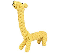Giraffe Rope Textile Chew Toys For Dog