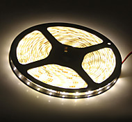 Waterproof 5M 45W 3900-4200LM 300x5050SMD Warm White Light LED Strip Lamp (DC 12V)