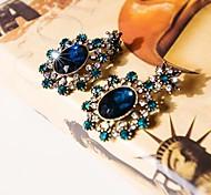 i cristal informal forma de flor del sol con incrustaciones de diamantes aretes de free®women 1 par