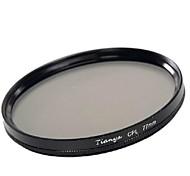 Tianya 77mm kpl Zirkularpolarisator Filter für Canon 24-105 24-70 17-40 i nikon 18-300 Objektiv