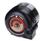 g-W130 alimentador de peixes automático com temporizador para tanque de peixes de aquário (1 x AA)
