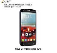 ipush elevata trasparenza protezione dello schermo LCD HD per Alcatel One Touch feroce 2