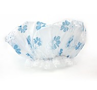 Mikimini Printing Shower Cap (Blue, yellow, red Random Color)