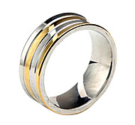Personalized Gift  Fashionable Stainless Steel Jewelry Engraved  Men's Ring