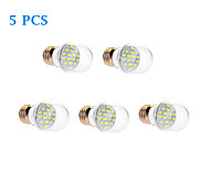 7W E26/E27 LED Globe Bulbs 16 SMD 5630 610 lm Warm White / Cool White AC 220-240 V
