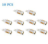 Lampadine a pannocchia 10 SMD 5730 G4 5 W 480 LM 3500/6000 K Bianco caldo/Luce fredda 10 pezzi DC 12 V
