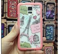 Samsung S5 i9600 - Custodie per retro - Grafica - Cellulari Samsung Plastica )