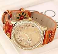 Women's European Style Ethnic Wild Concise Fashion Trend Casual Watches