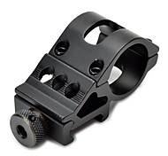 20mm Aluminum Alloy Gun Rail Mount  (Black)