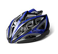 WEST BIKING® Unisex Carbon Fiber Imitation One-piece Breathable Comfortable With Brim Adjustable 22 Vents Cycling Helmet