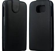 Samsung Handy - Samsung Samsung Galaxy S6 - Hüllen (Full Body) - Einfarbig/Spezielles Design PU Leder )