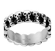 Skull Design RingPunk Style Titanium Fashion Jewelry For Men Dress Accessories