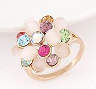 Damen Ringe Opal/Strass Legierung Legierung