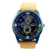 Men's Sports Watch Quartz Analog