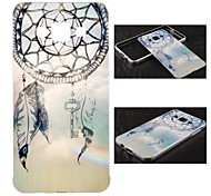 Metal Frame Full Embossment Aeolian Bells Pattern Hard  Hard Case for Samsung Galaxy A5 (Assorted Colors)