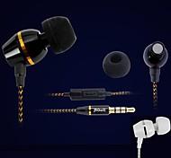 Fones (Ouvido) ( Preto/Branco , Tudo-Em-1/Microfone/MP3/Ressonância/Fones de Ouvido/Noise-Cancelling ) - Com Cabo - Dentro da Orelha -