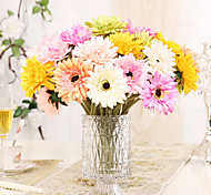 Silk Chrysanthemum Artificial Flowers