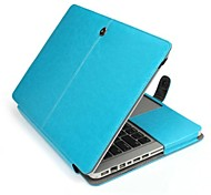 "Protective PU Leather Flip Open Case for MACBOOK PRO 15.4""(Assorted Colors)"
