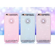 Special Design Solid Color Diamond/Rhinestone Decorated Case Ultra Slim TPU for iPhone 6  (Assorted Colors)