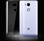 Ultra-Thin Waterproof Transparent TPU Shell for  Huawei Mate 7