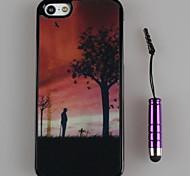 Cubierta Posterior - Diseño Especial - para iPhone 5/iPhone 5S Plástico )