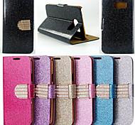 Teléfono Móvil Samsung - Carcasas de Cuerpo Completo/Fundas con Soporte - Color Sólido/Patrón de Cuadrícula/Diseño Especial - para Samsung