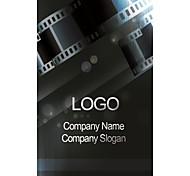 Business Cards 200pcs Negative Film Pattern 2 Sided Printing of Fine Art Filmed Paper
