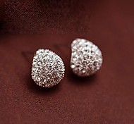 European Style New Fashion Drops  Rhinestones Earrings