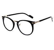 [Frame Only] Round Full-Rim Prescription Eyeglasses