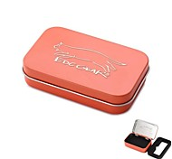 EDCGEAR Metal Storage Box Case for Cigarette - Orange